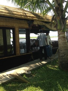 departure for backwater cruise