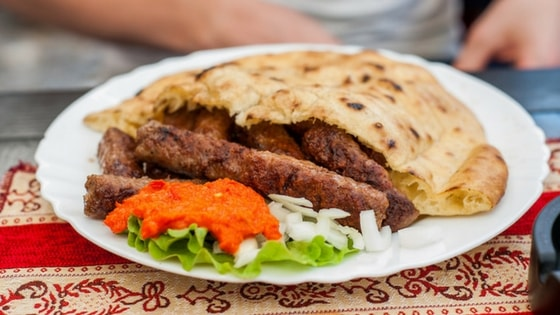 What to eat while in Mostar during Red Bull Cliff Diving event