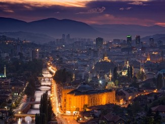 city of sarajevo bosnia and herzegovina