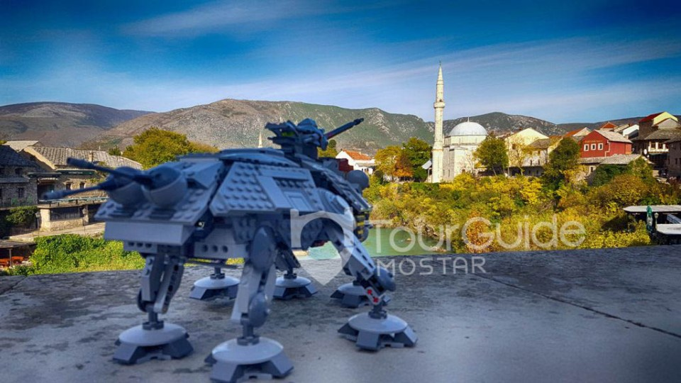 Today we celebrate Star Wars Day in Mostar.