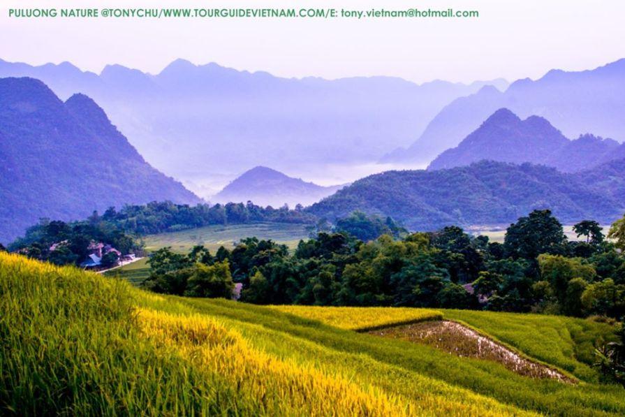 Puluong 1 Hanoi to Mai Chau Pu luong car transfer