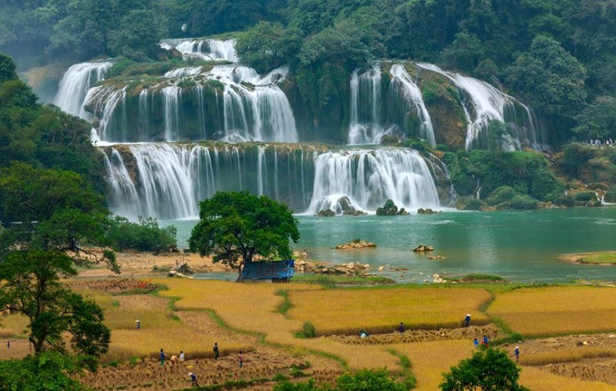 Lehuy89 Hanoi to Ban gioc waterfall private car 038 Ba Be Lake