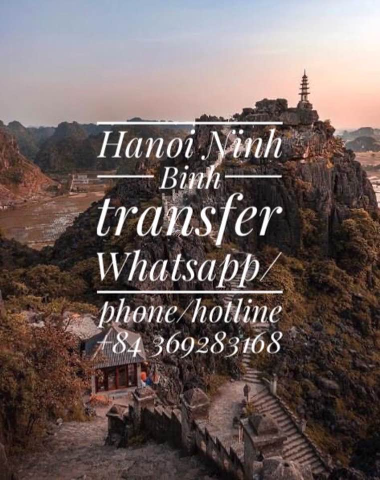 Hanoininhbinh Hanoi to Ninh Binh private car