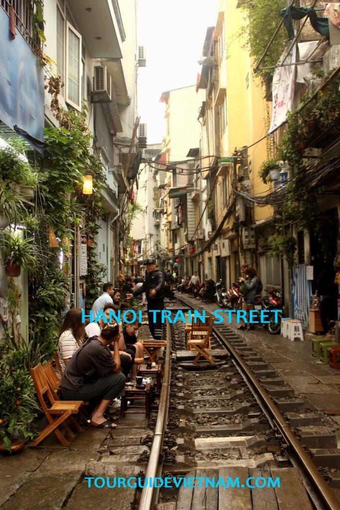 Hanoi train street Vietnam itinerary 1 682x1024 Vietnam Itinerary for 2 weeks