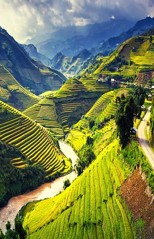 Road trip to mu cang chai 6 incredible road trip to Vietnam rice terraced fields
