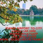 hanoi airport to the city