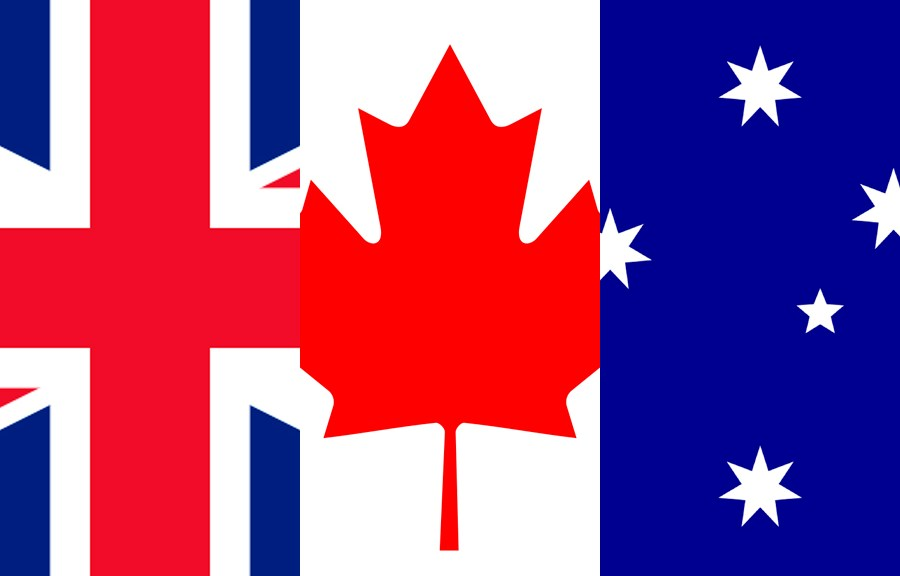 Anglophone Flags