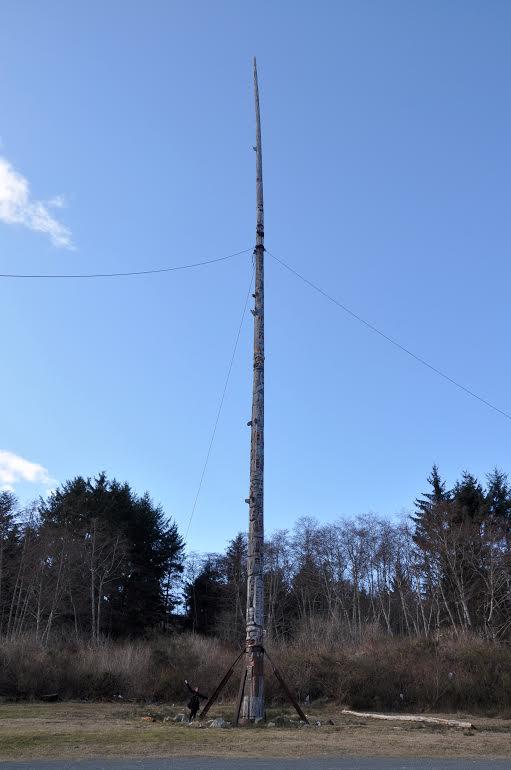 Alert Bay Totem Pole