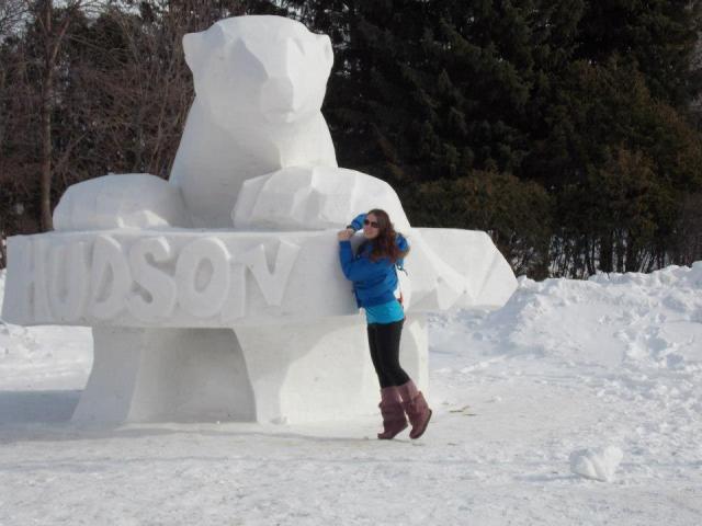 Snow Sculpture Festivale du Voyageur