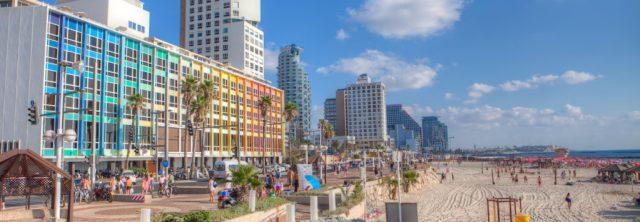Custom Tours - Beach Promenade- Tel Aviv-Israel-cr-Dana Friedlander