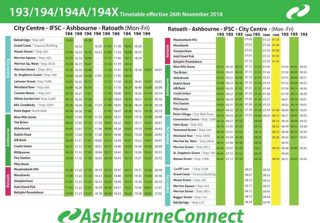 Niv-193-timetable