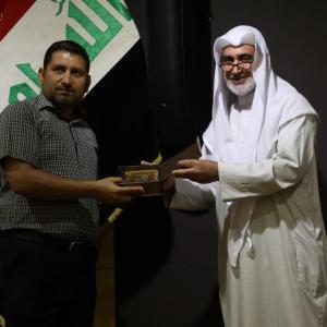 تكريم الدكتور سلام جعفر عزيز من قبل مركز تراث كربلاء