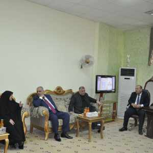 زيارة وفد من وزارة السياحة والثقافة والاثار
