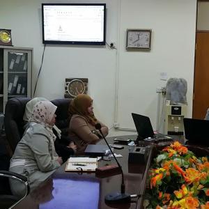 كلية العلوم السياحية تقيم دورة تدريبية بعنوان((كفاءة الحاسوب))
