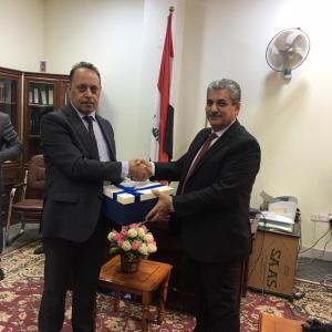 تكريم الاستاذ الدكتور فؤاد عبد المحسن بمناسبة حصولة على لقب الاستاذية