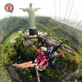 Paragliging in Rio!