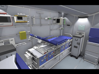 Lufthansa's On-Board ICU
