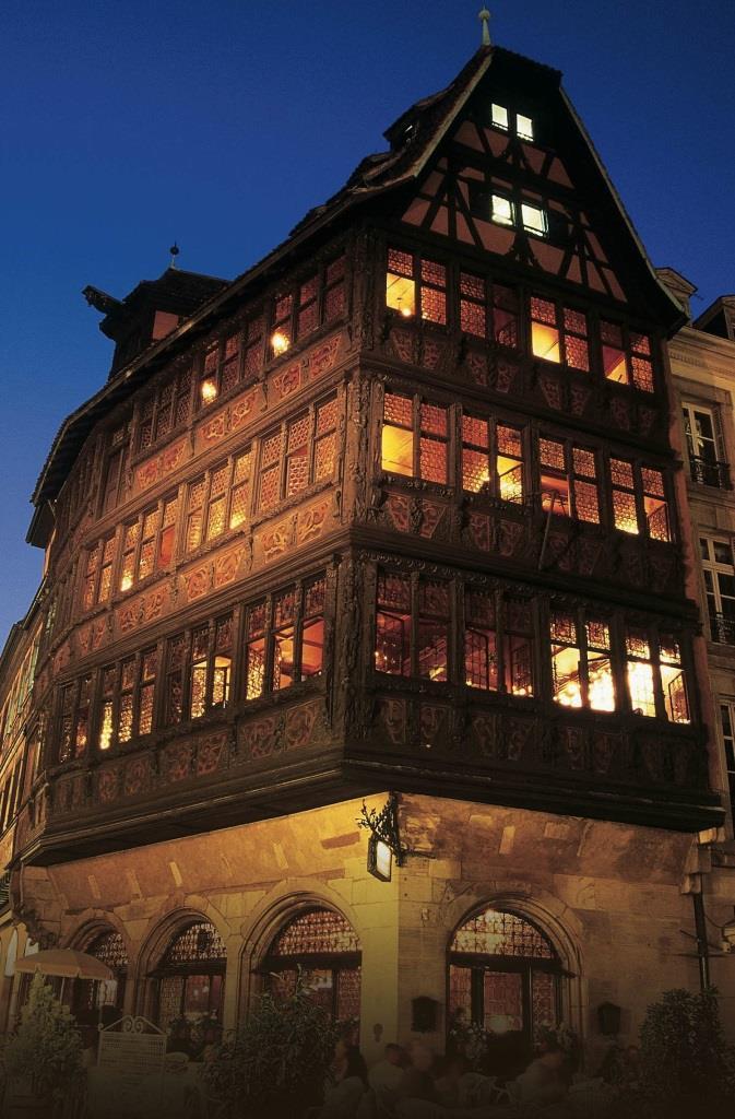 façade Maison Kammerzell