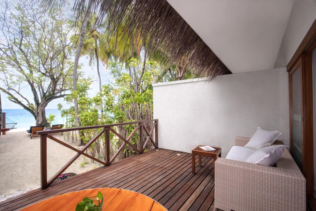Deluxe Delight Beach Villa Deck