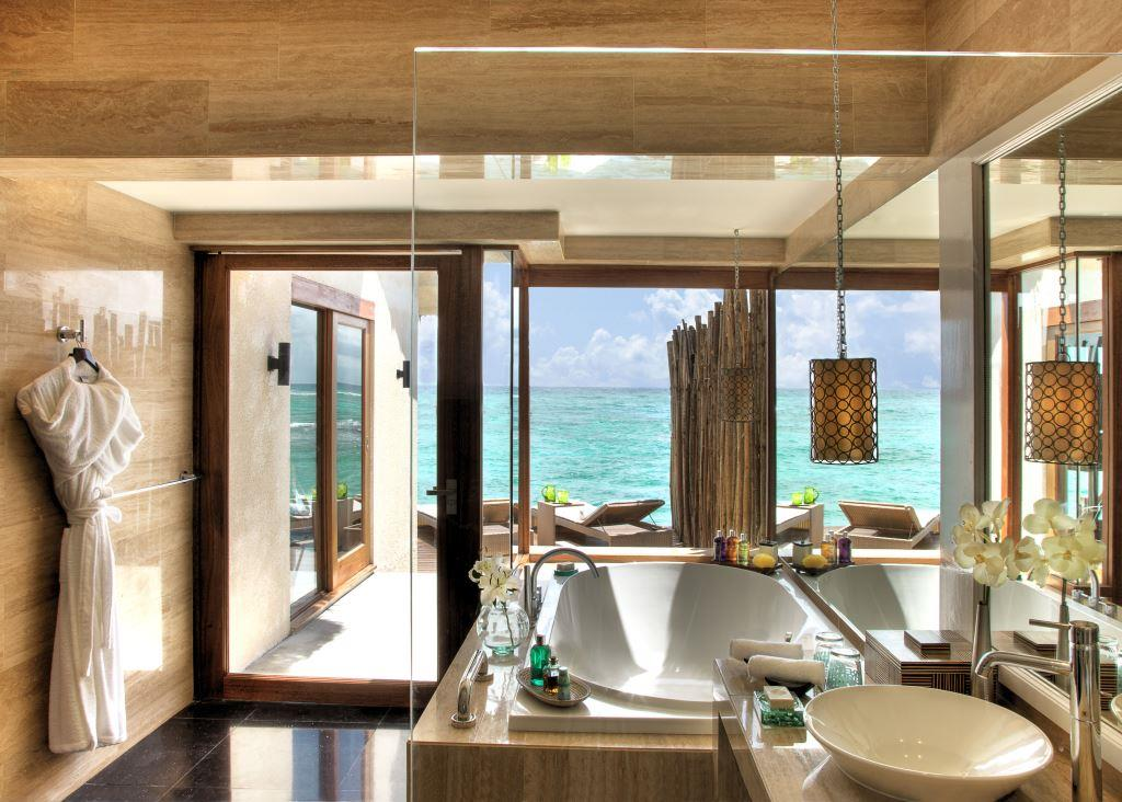Premium Indulgence Water Villa Bathroom 1