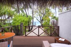 Superior Charm Beach Villa Deck
