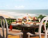 Vivanta Presidential Suite Balcony Breakfast
