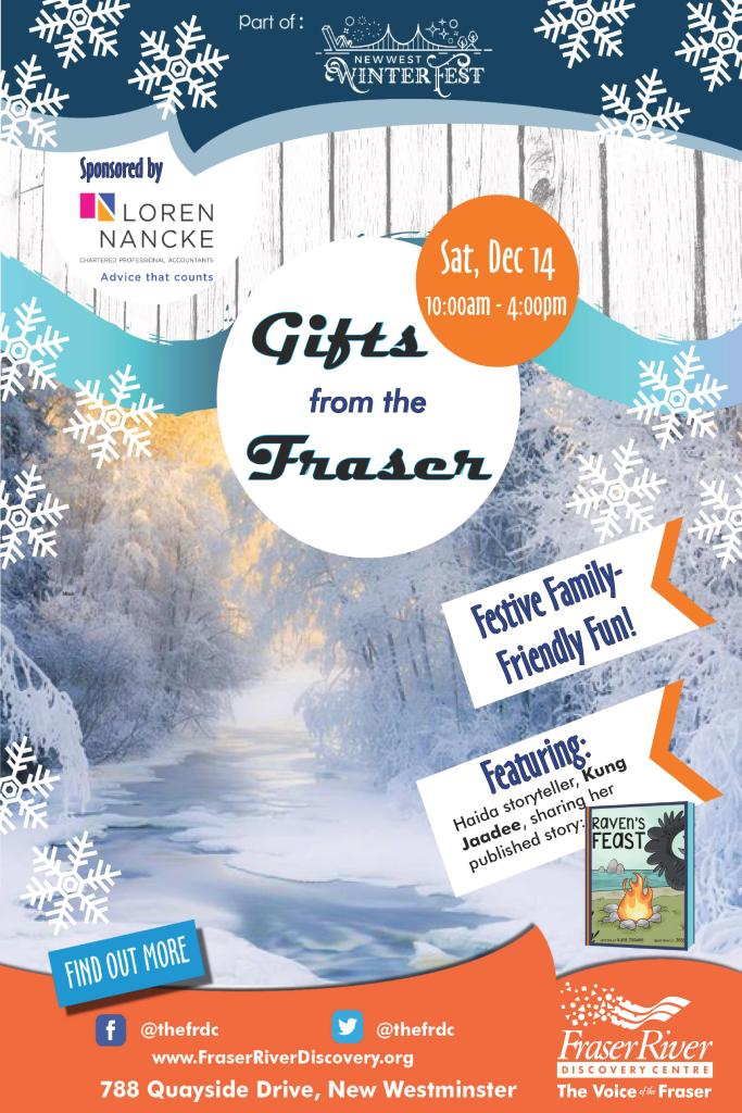 Gifts from the Fraser - WinterFest poster