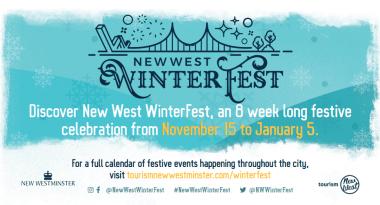 New West WinterFest Banner
