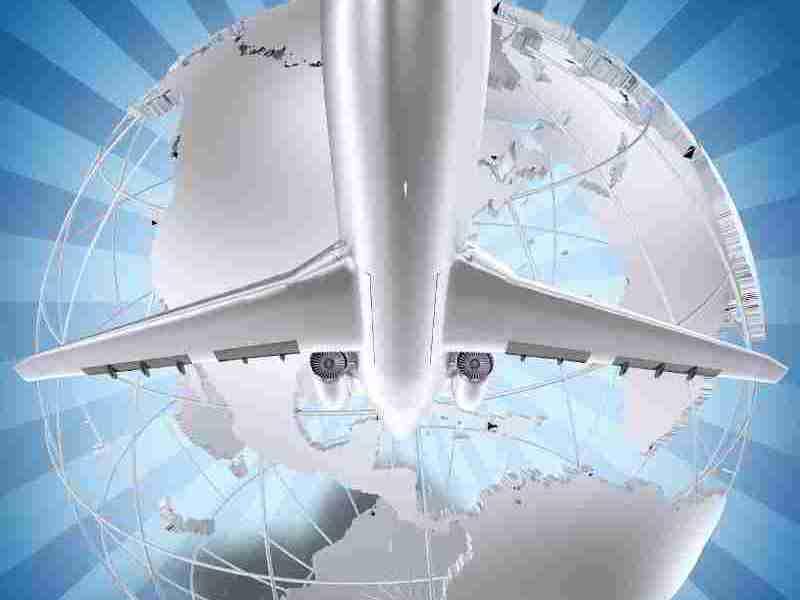 graphicstock-airplane-world