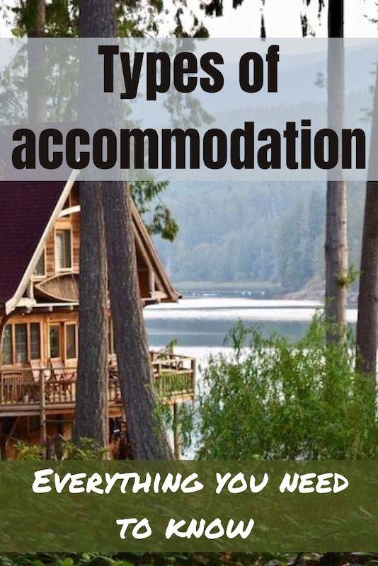 types of accommodation