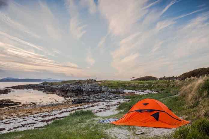 oranje tent