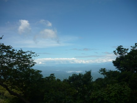 View from Volcán Tecapa