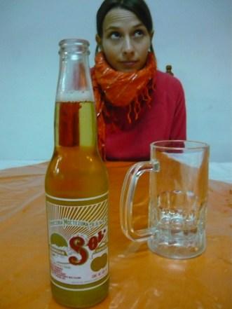 Una cerveza y una Elsa bien frías