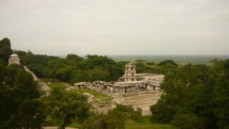 View from templo de La Cruz