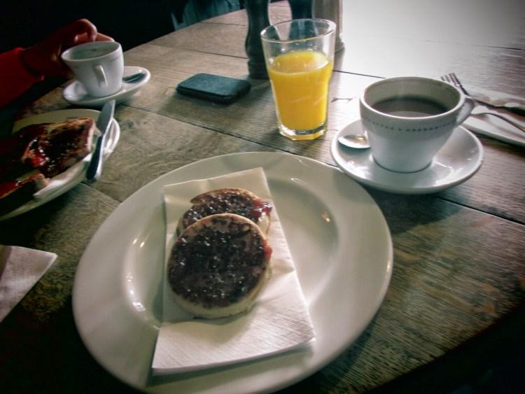 À the english restaurant à Brushfield © Touristissimo