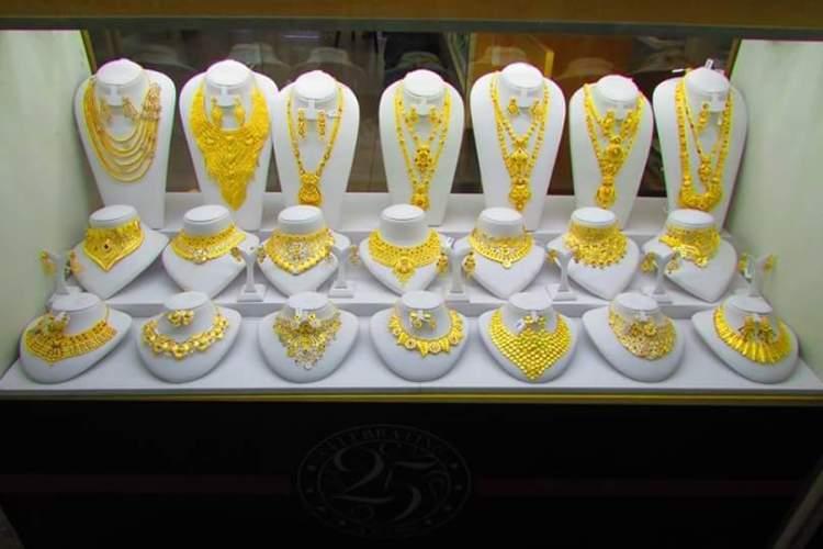 Le souk d'or Dubaï
