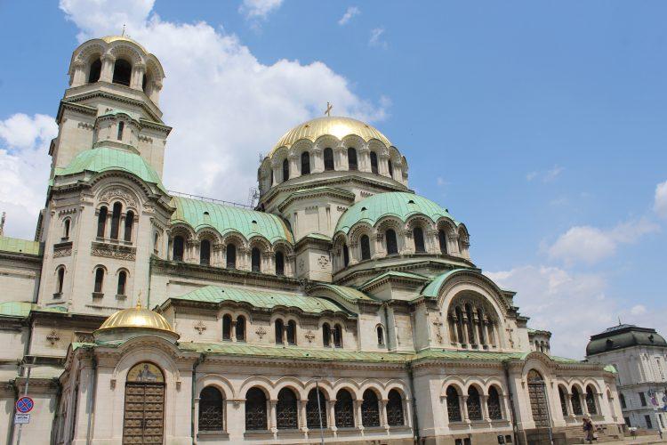 La cathédrale Orthodoxe de Sofia en Bulgarie