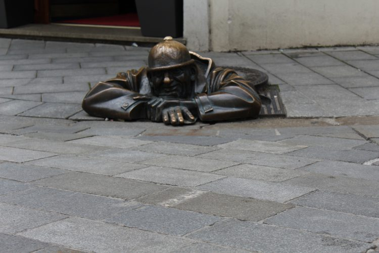 Man at work Bratislava
