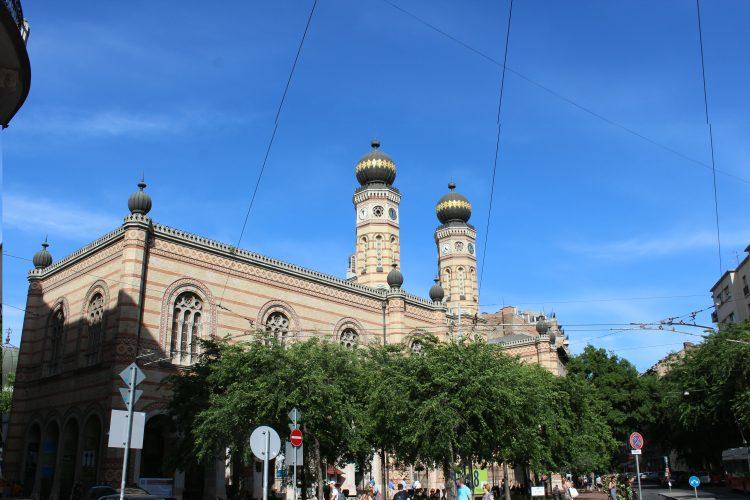 La synagogue de Budapest Hongrie
