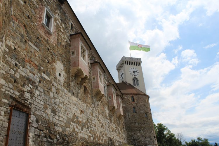 Le château de Ljubljana Slovènie