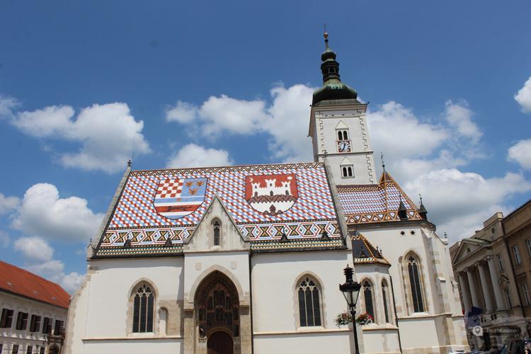 L'église de Zagreb