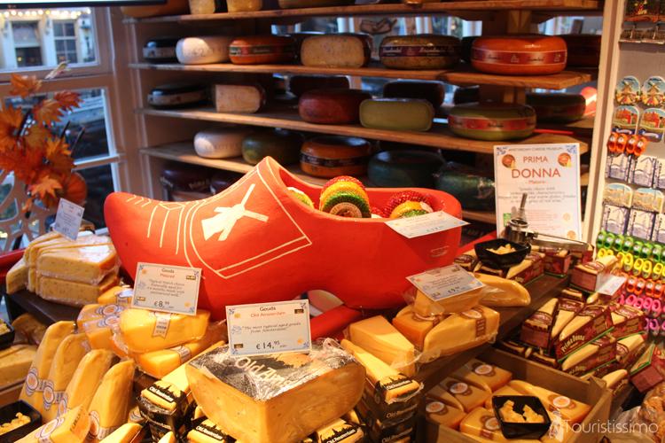 Musée du fromage à Amsterdam