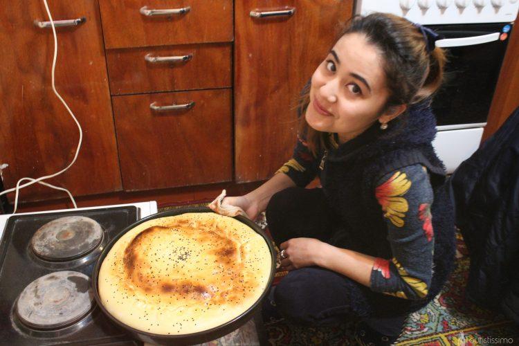 Diner chez l'habitant en Ouzbékistan
