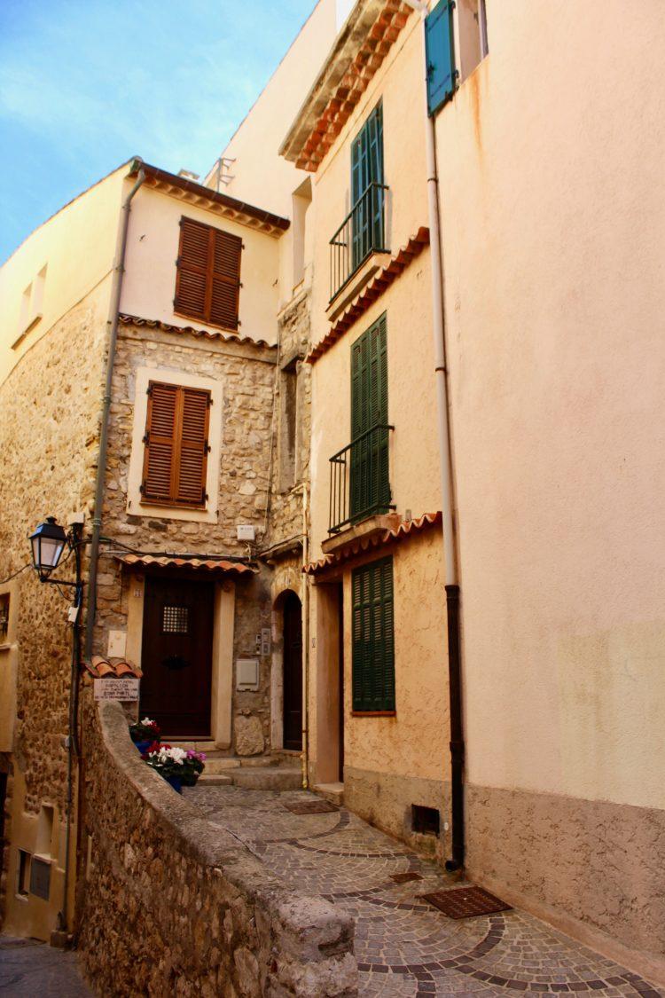 La vieille ville d'Antibes