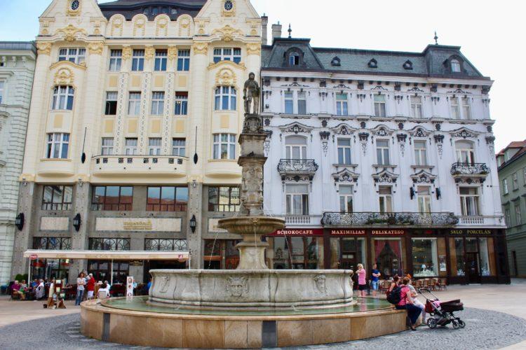La Grande place de Bratislava