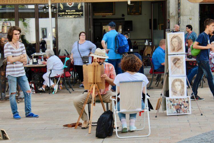 Portraitistes à bratislava