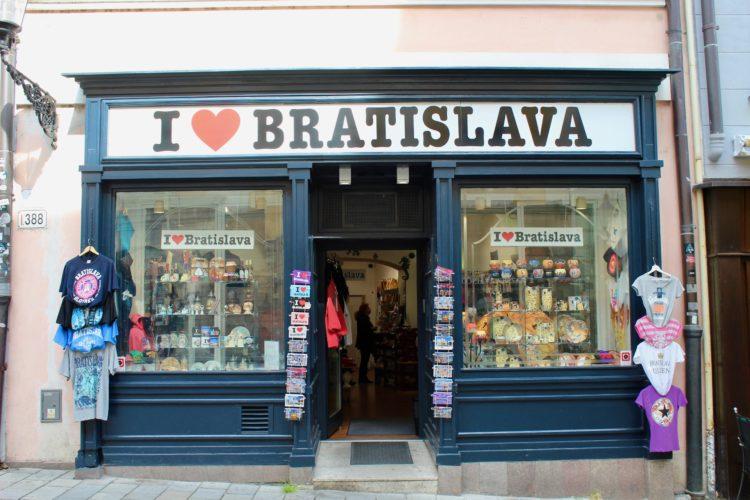 Une boutique à bratislava
