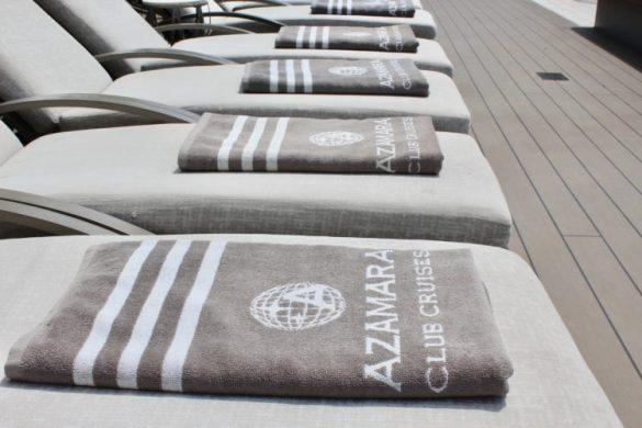 serviettes de bain azamara quest