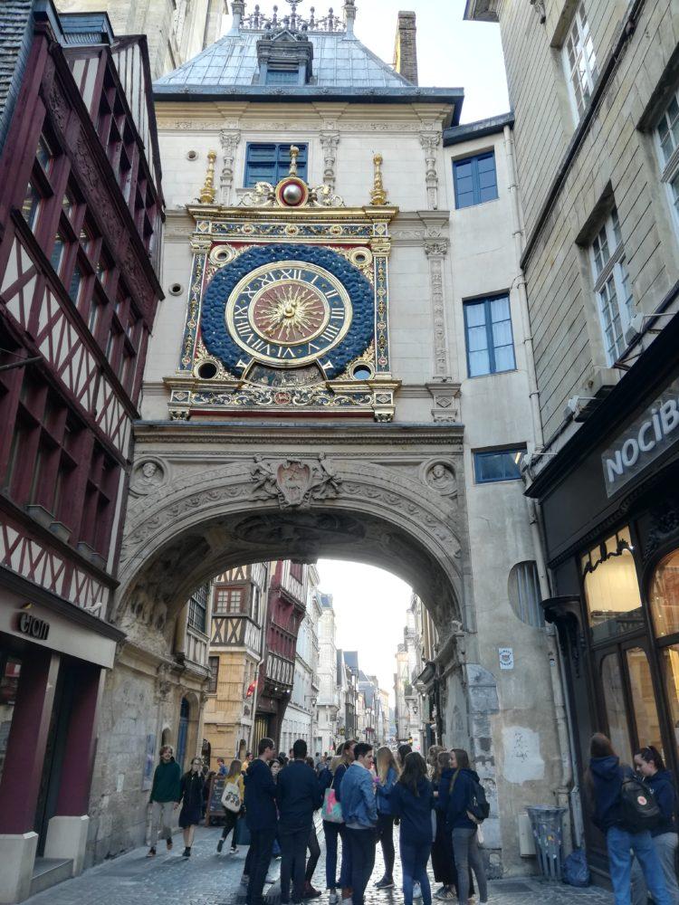 lhorloge-à-Rouen