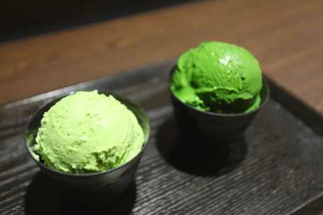 richest green tea ice cream